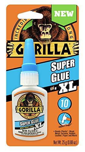 Gorilla Super Glue XL, 25 gram, Clear, (Pack of 1)