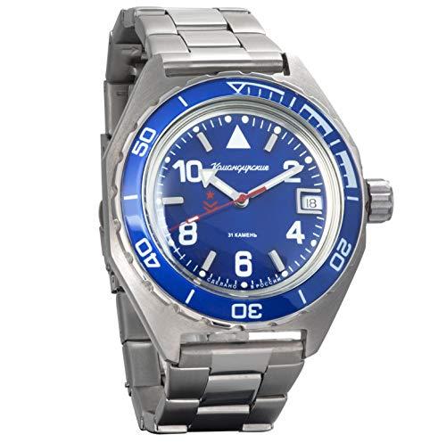 Vostok - Reloj de pulsera automático y militar ruso...