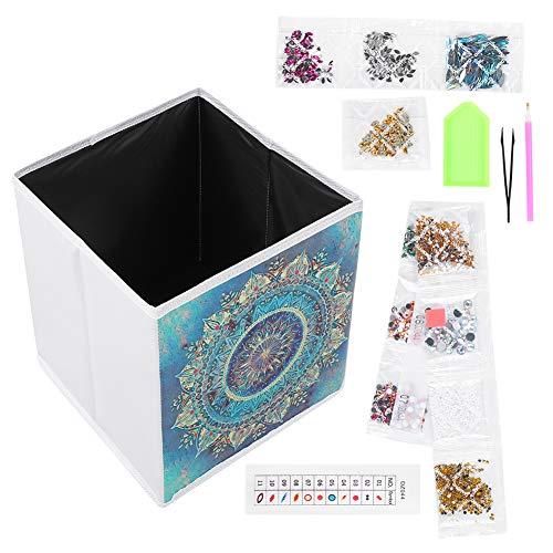 5D Diamond Painting Kits Full Drill Diamond Painting Kit Tillbehör för Diamond Art Tools med vikbar förvaringslåda för heminredning