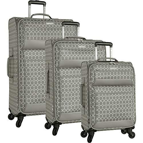 Ninewest Luggage, Grey, 3 Piece