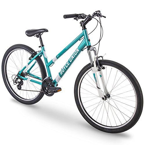 Royce Union 27.5' RMA Womens 21-Speed All-Terrain Mountain Bike, 17' Aluminum Frame, Trigger Shift, Metallic Teal