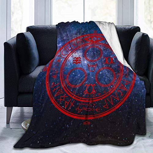 Silent Hill - Manta de franela cómoda, ultra suave, ligera, de microfibra, duradera, decoración del hogar, perfecta para sofá cama