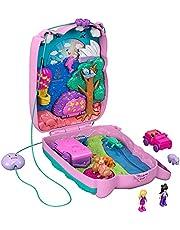 Polly Pocket Draagbare handtaskoffer met accessoires, speelgoed vanaf 4 jaar