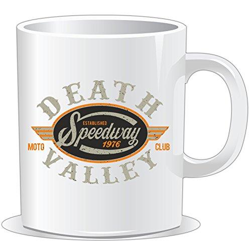 getshirts - Rahmenlos® Geschenke - Tasse - Biker - Death Valley Speedway 1976 Moto Club - Uni Uni
