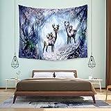 Patrón de tapicería Animal, Manta de decoración para el hogar, Pintura de Tela para decoración de Paredes, Peso Ligero, Duradero, Varios Patrones Disponibles WSWQWL (Color : G)