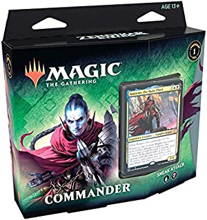 Magic: The Gathering - Renascer de Zendikar | Commander Deck Ataque Surpresa | 99 cards | Acessórios | Produto em Português