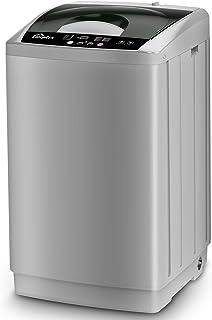 Full Automatic Washing Machine 1.8 Cuft, LifePlus 12lbs Capacity Portable Washing Machine with Drain Pump, Faucet Adaptor,...