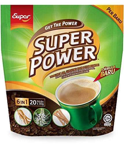 7 Pack Super Power Coffee 6 in Ranking TOP1 Kuc Tongkat Misai Overseas parallel import regular item Ali 1 Ginseng