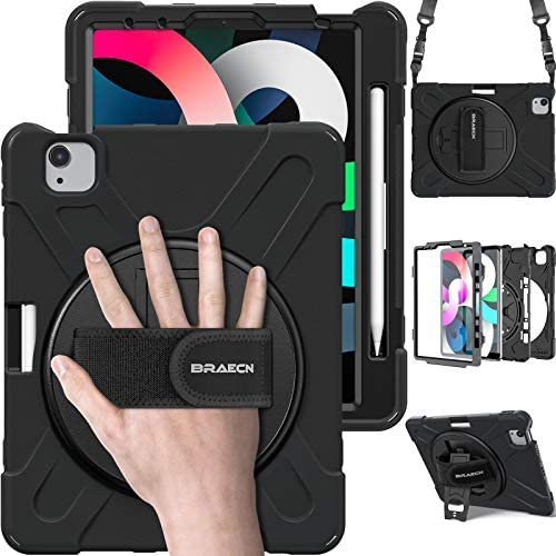 BRAECN iPad Air 4 10 9 Case 2020 iPad Pro 11 Inch Case Heavy Duty Shockproof Kids Case with product image