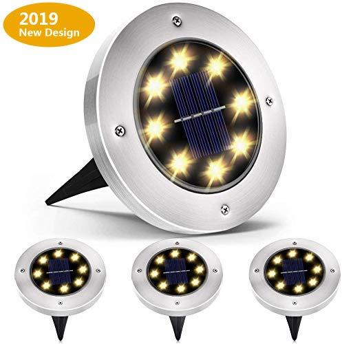 findyouled『埋め込み式 LEDソーラーガーデンライト グラウンドライト』