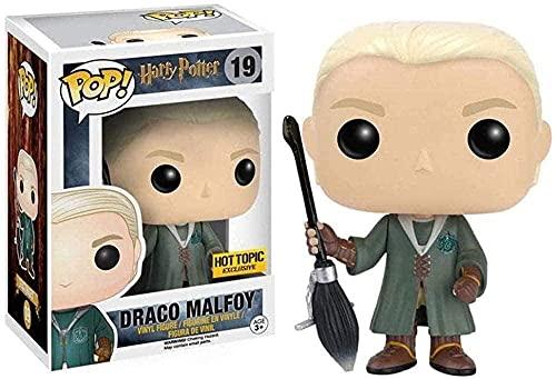 Coupe du Monde de Quidditch 10cm Draco Malfo Figure Pop Shape Harry Potter et la Collection de Fans du Film Sage Stone