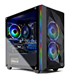 Skytech Chronos Mini Gaming PC Desktop - AMD Ryzen 3 3100, NVIDIA GTX 1650 Super 4GB, 8GB DDR4, 500GB SSD, A320 Motherboard, 550 Watt Bronze