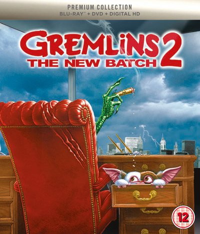 Gremlins 2 The New Batch Slipcased Edition Blu Ray + DVD + Art Cards + Digital Download / Import.