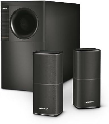 Bose Acoustimass 5 Series V Sistema de bocinas estéreo. Negro
