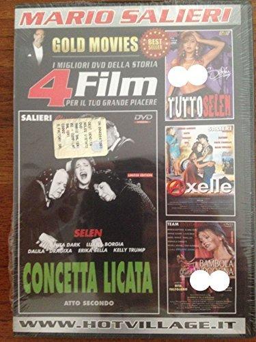 I Migliori Dvd Della Storia 4 Film Per il Tuo Grande Piacere 02 (The Best Dvd Of The History 4 Movies For Your Great Pleasure 02 - Mario Salieri)