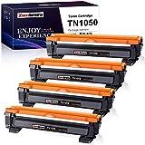 Zambrero Compatibile Toner TN1050 Sostituzione per Brother TN-1050 TN1050 Cartuccia Toner per Brother DCP-1612W DCP-1512 DCP-1510 1610W HL-1110 HL-1212W HL-1112 HL-1210W MFC-1910W MFC-1810 (4 Nero)