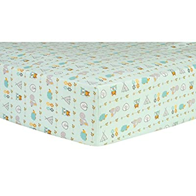 Trend Lab Southwest Adventures Deluxe Flannel Fitted Crib Sheet