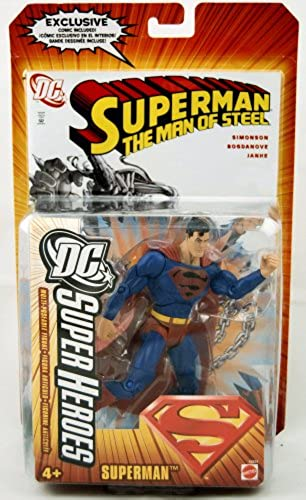 DC SUPER HEROES SUPERMAN with EXCLUSIVE COMIC (VARIANT)