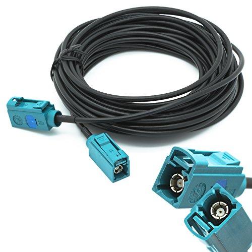 Adapter Universe Antennen Adapter 6m Verlängerungskabel FAKRA Buchse auf FAKRA Buchse Z Antennenkabel RG 174 Auto für Universal