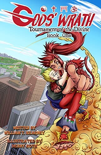 GODS' WRATH: TOURNAMENT OF THE DIVINE: Book One (English Edition)