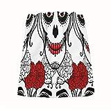 Rnivry - Toallas de mano de algodón Catrina Mujer con composición de calavera de azúcar, toalla de baño, cocina, set decorativo de secado rápido 13.8x28.7' para baño, hotel, spa, gimnasio, Spor