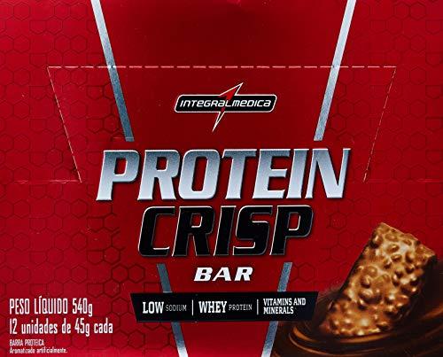 Crisp Bar Peanut Butter 12 Unid, Integralmedica