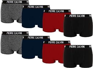 bc1dcd805b39b8 Pierre Calvini – Hipster Boxershorts, 8er Pack, Größe S,M,L,XL,XXL, Bequeme  und atmungsaktive Herren Unterwäsche, Baumwolle Unterhosen Männer in ...