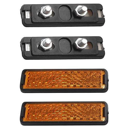 M-Wave SCHRAUB Pedal-Reflektoren, Schwarz, One Size