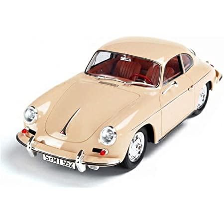 Magicwand® Kinsmart 1:38 Scale Die-cast Metal Porsche 356 B Carrera 2 Die-Cast Car with Openable Doors & Pull Back Action(Colors As per Stock)