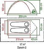Zoom IMG-1 coleman darwin tenda da 2