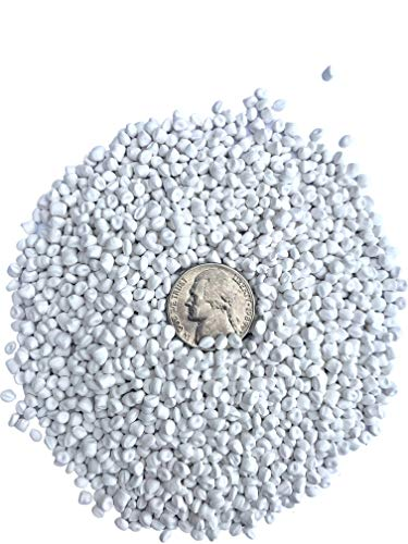 Plastic Pellets Bulk for Weighted Blankets (50LBS) Machine Washable & Dryable Poly Beads