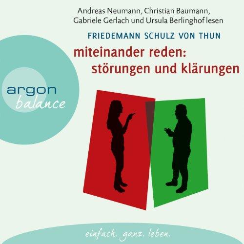Miteinander reden 1: Störungen und Klärungen audiobook cover art