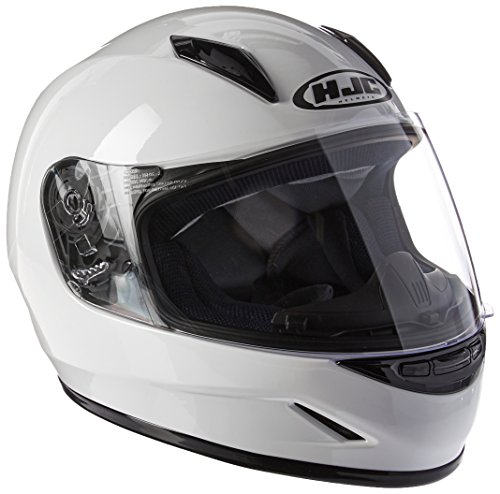 HJC Helmets CL-Y Youth Helmet (White, Small)