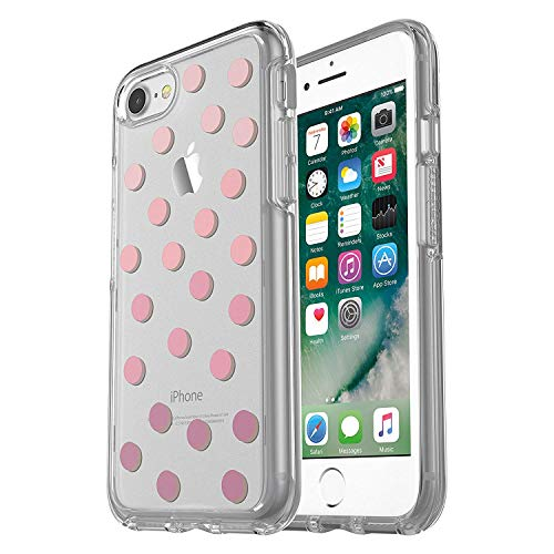 OtterBox Symmetry Clear Series Case for iPhone SE (2nd gen) and iPhone 8/7 (NOT Plus) - Bulk Packaging - Save Me a Spot