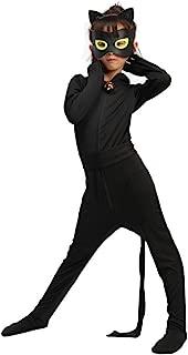 Children's Black Cat/Black Cosplay Jumpsuit/Boy Girl Clothing/Black Cat Black Cosplay Costume
