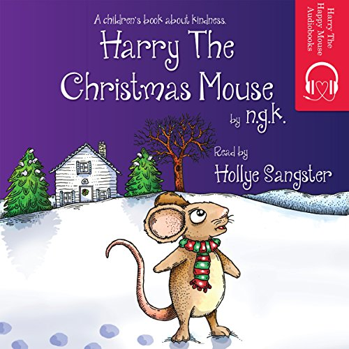 Harry the Christmas Mouse audiobook cover art