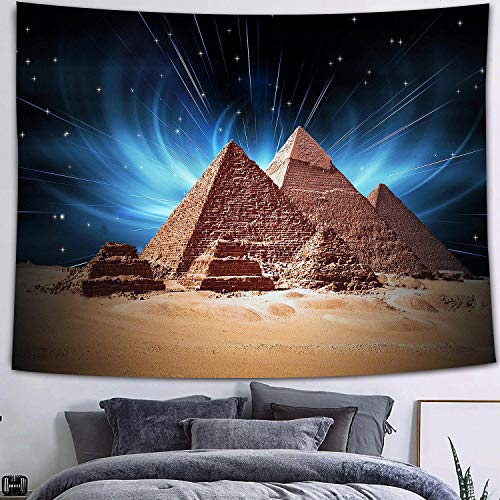 Flor abstracta tapiz calabaza linterna cielo nocturno arte colgante de pared fondo tela sala de estar dormitorio decoración a39 73x95cm