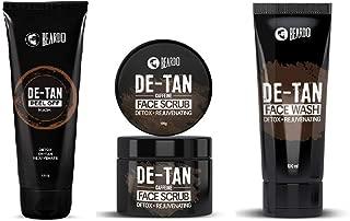 Beardo De-Tan Kit ((De-Tan Face Wash,De-Tan Face Scrub & De-Tan Peel off Mask)