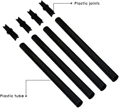 """Walensee Extension and Joint Kits 4-Pack Solar Flame Torches, 12"""" Extension Makes Torches Taller"""