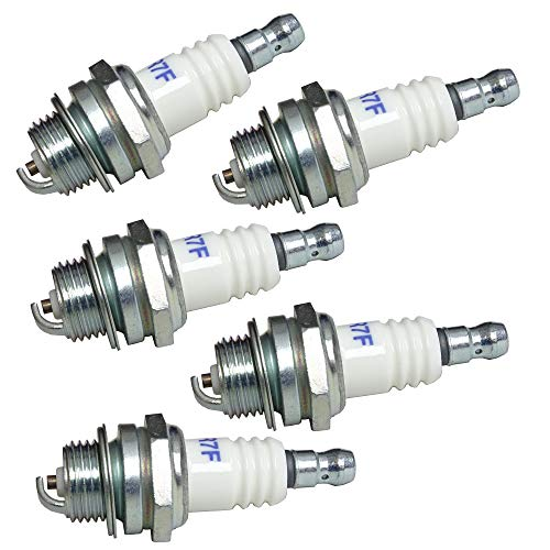 Candele di accensione di ricambio per decespugliatori e motoseghe Bosch WSR6F Bosch 0242240846 Champion RCJ6Y Dolmar 965603014 NGK BPMR6A NGK BPMR7A Stihl 11104007005 (5)