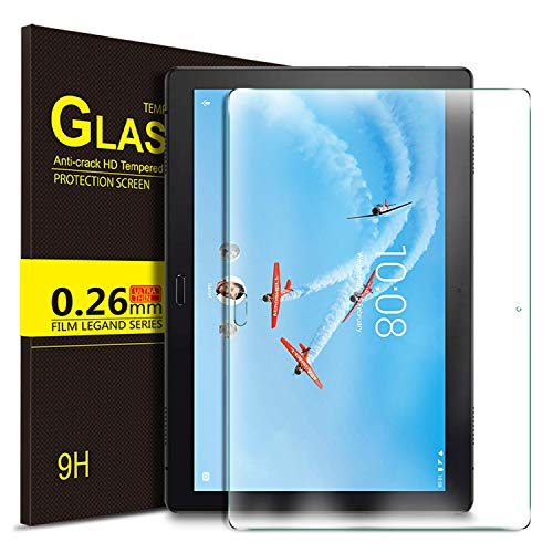 IVSO Screen Protector for Lenovo TAB P10, Clear Tempered-Glass Flim Screen Protector for Lenovo TAB P10 10 inch, 1 Pack