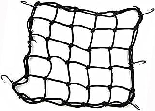 Xrten Motorrad Netz Motorrad Gepäcknetz,Einsetzbar Elastisch Gepäcknetz mit 6 Haken für Befestigung Helm Gepäcktasche