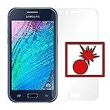 Slabo 2 x Panzerschutzfolie für Samsung Galaxy J1 Panzerfolie Bildschirmschutzfolie Schutzfolie Folie Shockproof KLAR
