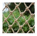 WANXMITE Red Balcon Niños al Aire Libre en el jardín Red de Escalada, balcón Entrenamiento de Desarrollo Interior Cuerda Red de protección, Resistentes al Desgaste Nets Decorativos de Escalada Nets