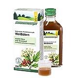 Schoenenberger Weißdorn, Naturreiner Heilpflanzensaft – zur Unterstützung der Herz-Kreislauf-Funktion - freiverkäufliches Arzneimittel, 200 ml
