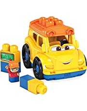 Mega Bloks GCX10 – litet fordon skolbuss, 6 delar