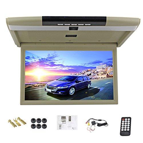 Car Monitor da 15 pollici abbassare monitor LED dell'automobile dello schermo digitale Monitor da tetto montato monitor del soffitto dell'automobile