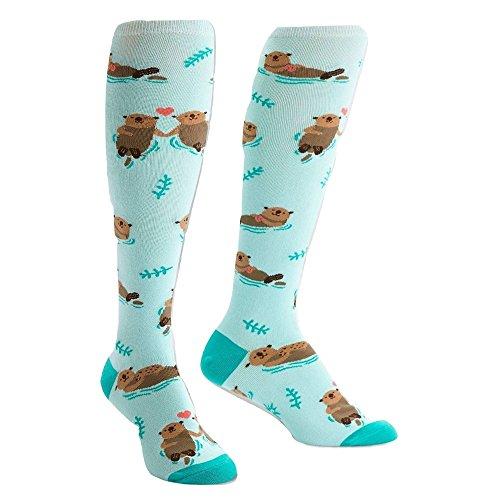 Sock It To Me Women's My Otter Half Knee High Socks