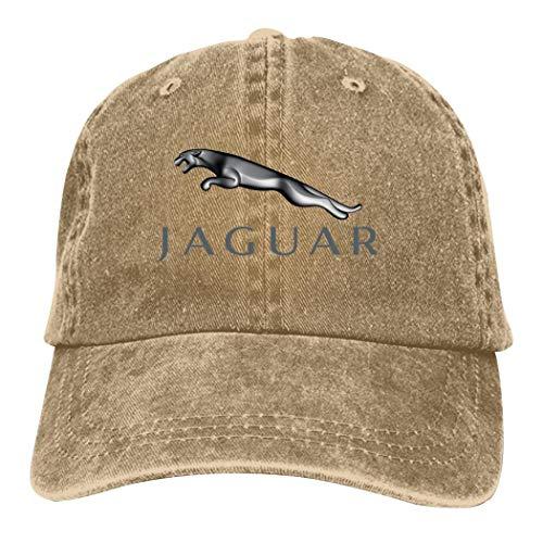 TEJNFDHSRRE Jag-uar Unisex Logo Cowboy Hat Adjustable Casual Baseball Cap Denim Dad Hat