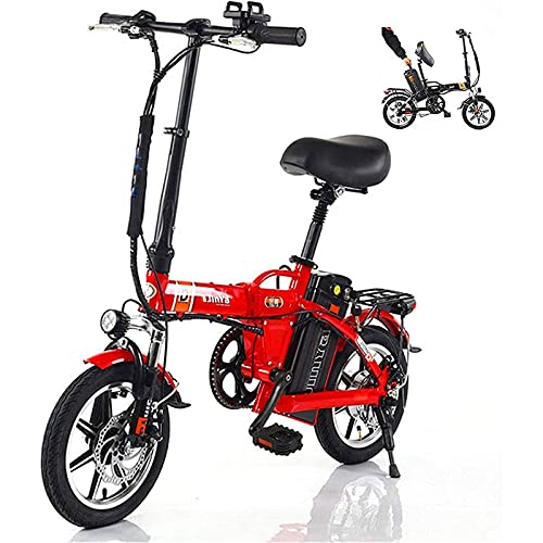 Bicicleta Eléctrica, Scooter Eléctrico Bicicleta Eléctrica De Engranajes De 7 Velocidades, Con Batería De Litio Extraíble 48V10-20Ah, Con Batería De Iones De Litio De 48V 500W 15Ah, Bicicleta Eléctric